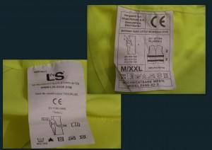 Normas CE dos coletes refletores
