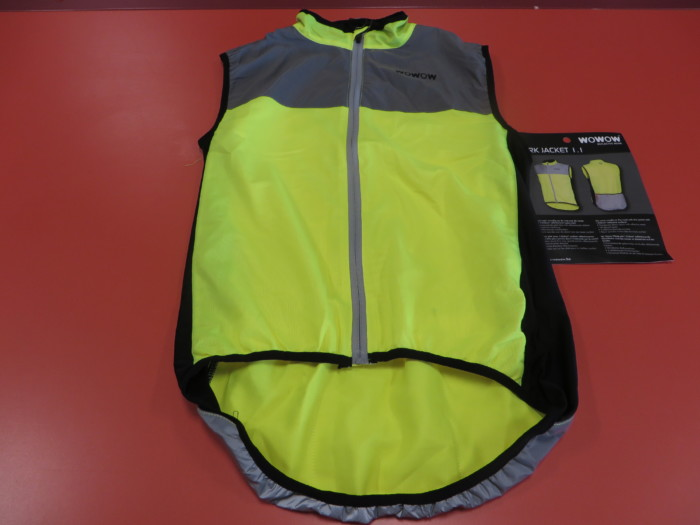 Colete WOWOW Dark Jacket1.1 tras